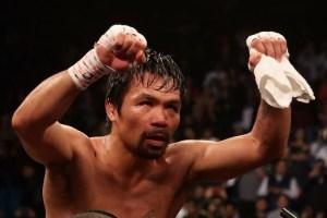 Si él quiere, habrá pelea: El reto de Pacquiao a Mayweather