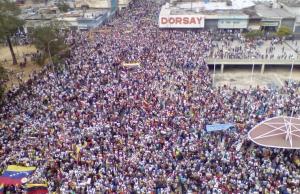 El pueblo de Maracay gritó con brío y desbordó las calles #23Ene (Fotos y Videos)