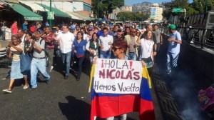 Esto fue lo que gritaron los habitantes de Petare a militares en cabildo abierto de este #19Ene (Video)