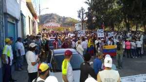 Mérida presente en la protesta contra la usurpación de poder #23Ene