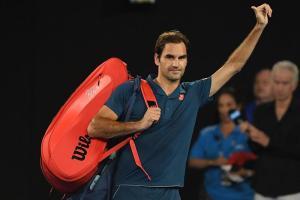 Federer pierde su corona en Australia al caer en octavos con Tsitsipas