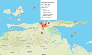 Más de diez sismos se registraron en Sucre durante la mañana de este miércoles #16Ene