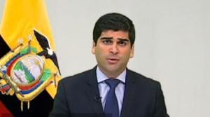 Vicepresidente de Ecuador critica inacción de la policía en caso de feminicidio y pide no fomentar el odio (video)