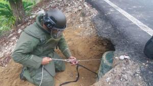 Frustran nuevo atentado del ELN contra ejército y policía en Colombia (Video)