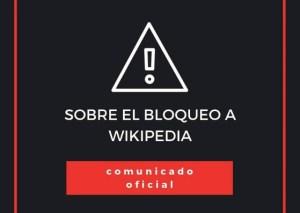 Wikipedia insta a las autoridades a restablecer el libre acceso en Venezuela (comunicado)