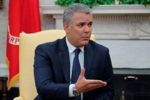 Duque recomienda a la OEA invitar a militares venezolanos a reconocer a Guaidó
