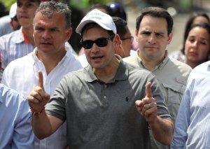 De cómo Marco Rubio le tendió la mano a un militar de Maduro y a otro, la condena