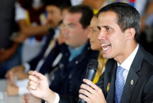 Guaidó: Maduro no pude hablar de diálogo, si negaron entrada a diputados europeos