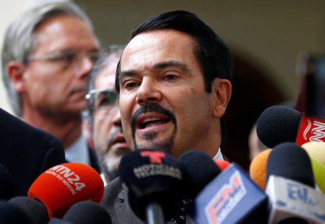 El embajador de Francia en Venezuela, Romain Nadal. Caracas, Venezuela, 19 de febrero de 2019. REUTERS / Marco Bello.
