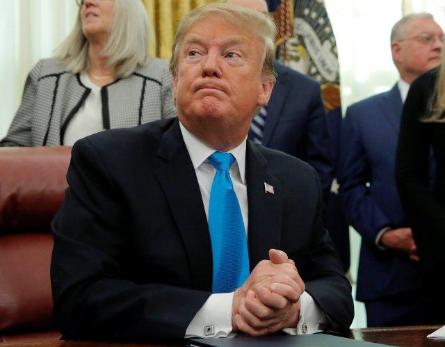 """Los reductos del Estado Islámico en Siria """"desaparecerán esta noche"""", asegura Trump"""