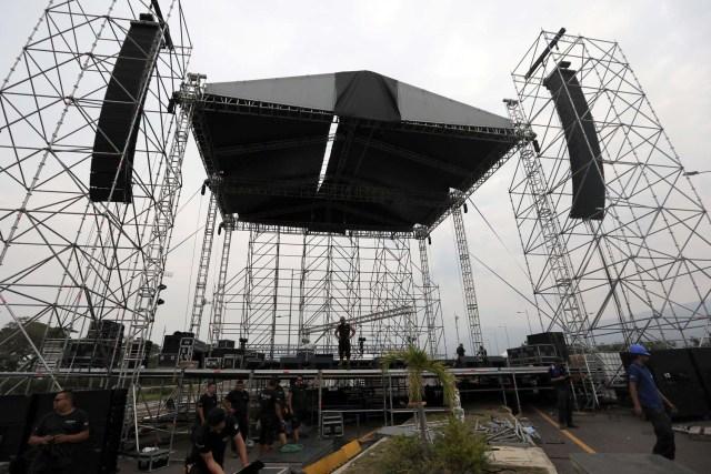 Ley Seca en Cúcuta el día del concierto Venezuela Aid Live