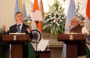 Argentina espera que la India corte la financiación al régimen chavista