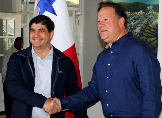Panamá y Costa Rica pactan plan para encarar flujo irregular de inmigrantes