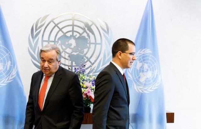 Jefe de la ONU urge al régimen de Maduro a no utilizar fuerza letal contra manifestantes