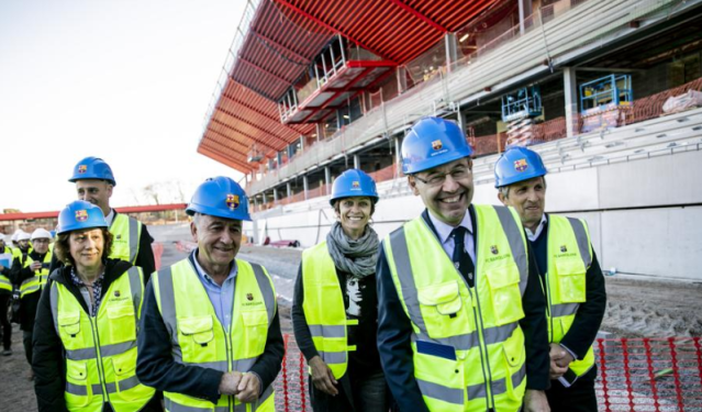 Directiva del Fútbol Club Barcelona/ Foto: La Vanguardia.