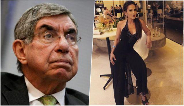 Oscar Arias yazmin morales