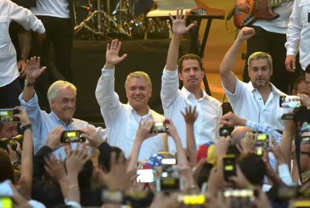Miles de personas, cuatro presidentes y todo un país a favor de la ayuda humanitaria en el Venezuela Aid Live