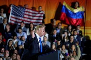 Siempre contra el socialismo: Trump asegura que Venezuela logrará la verdadera Independencia