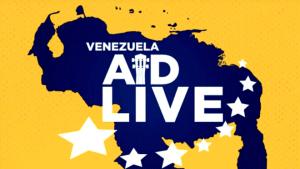 ¡Ya casi está lista! Así va la tarima del Venezuela Aid Live (FOTOS)