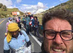 Caminantes: Comediante venezolano vivió en carne propia el sufrimiento de los migrantes (Fotos)