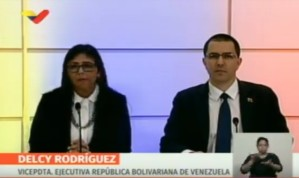 VIDEO: Delcy Eloína confirma cierre de frontera con islas del Caribe y dice que se revisarán relaciones diplomáticas