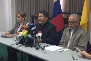 Iglesia Católica exhorta al régimen a permitir la entrada de la ayuda humanitaria al país (Comunicado)