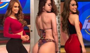 ¡Te dará calor y después te mojarás! Filtran videos íntimos de Yanet García, la chica más sexy del clima