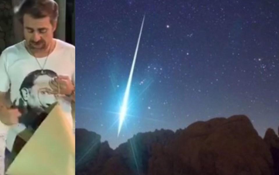 Rafael Lacava Se Burla Del Meteorito Que Cayó En Valencia