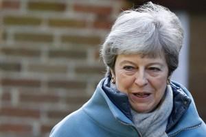 May avanza que hará una nueva oferta al Parlamento para aprobar el brexit