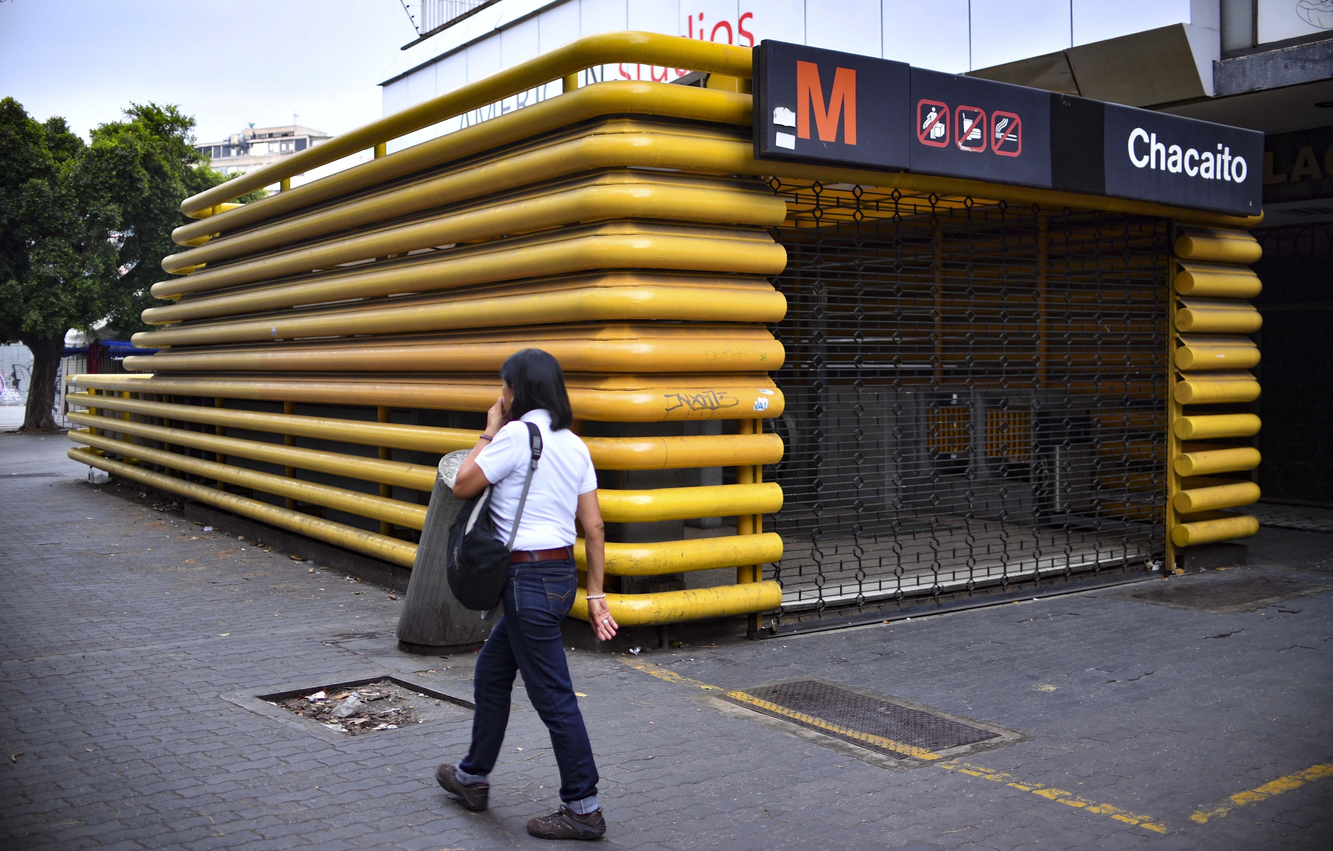 Metro de Caracas no presta servicio en la Línea 1 tras falla eléctrica #23Ago