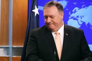 EEUU seguirá denunciando una actitud rusa inaceptable, según Pompeo