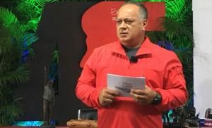 Diosdado Cabello respalda la negociación con la oposición en Barbados