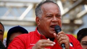 Diosdado Cabello llama a concentración en Miraflores #30Abr