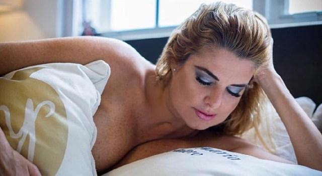 Las Fotos De Inés María Calero Completamente Desnuda Que