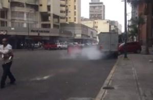 PNB dispersa con lacrimógenas concentración en La Candelaria #30Mar (Videos)