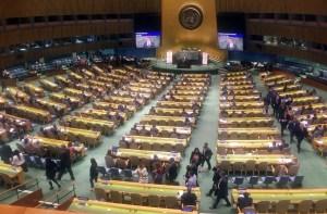 Embajadores del Grupo de Lima boicotean otra vez a Arreaza en la ONU (Video)
