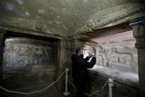 Egipto completa restauración de antiguas catacumbas de Kom el-Shuqafa