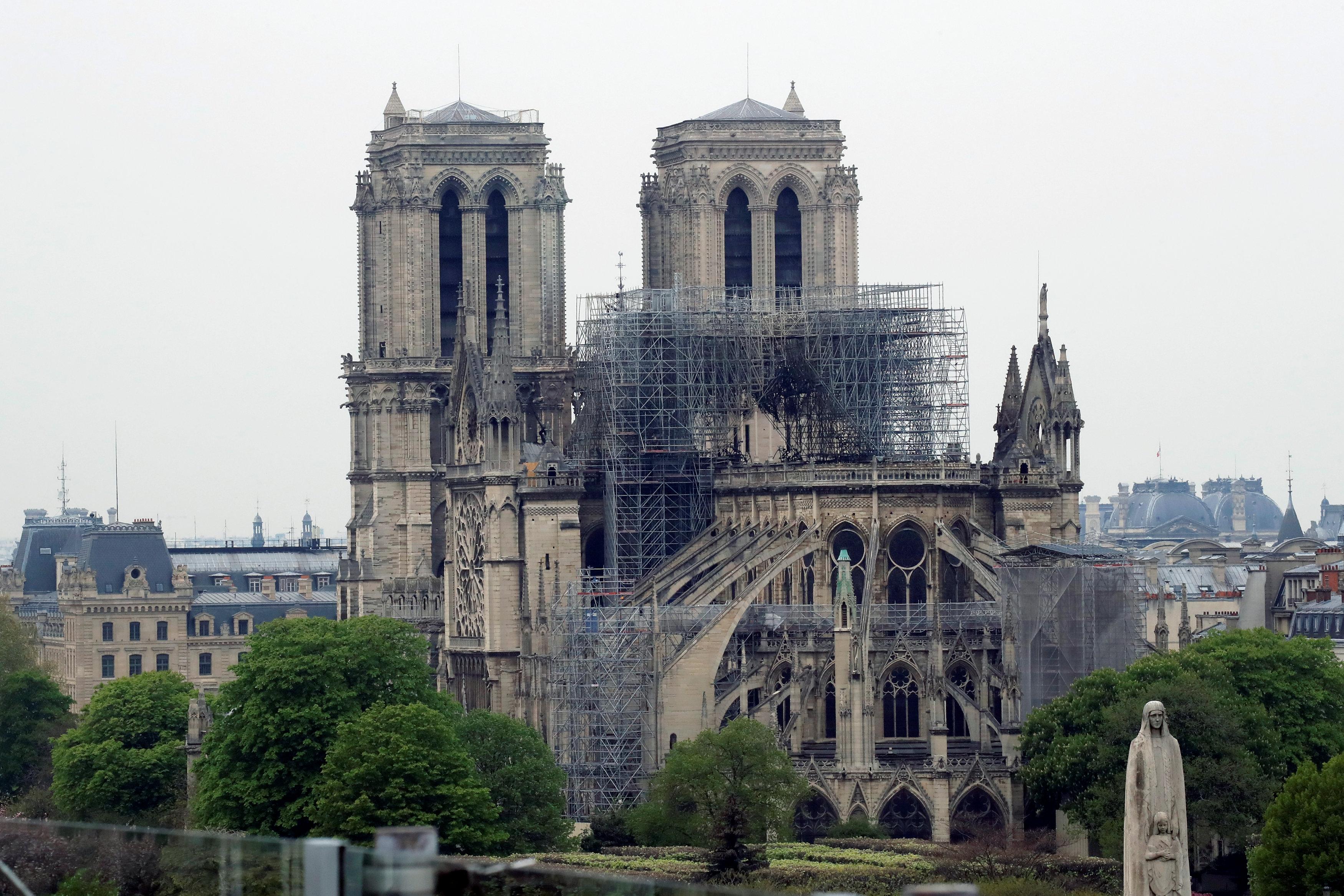 Qué se salvó y qué se perdió luego del voraz incendio en Notre Dame