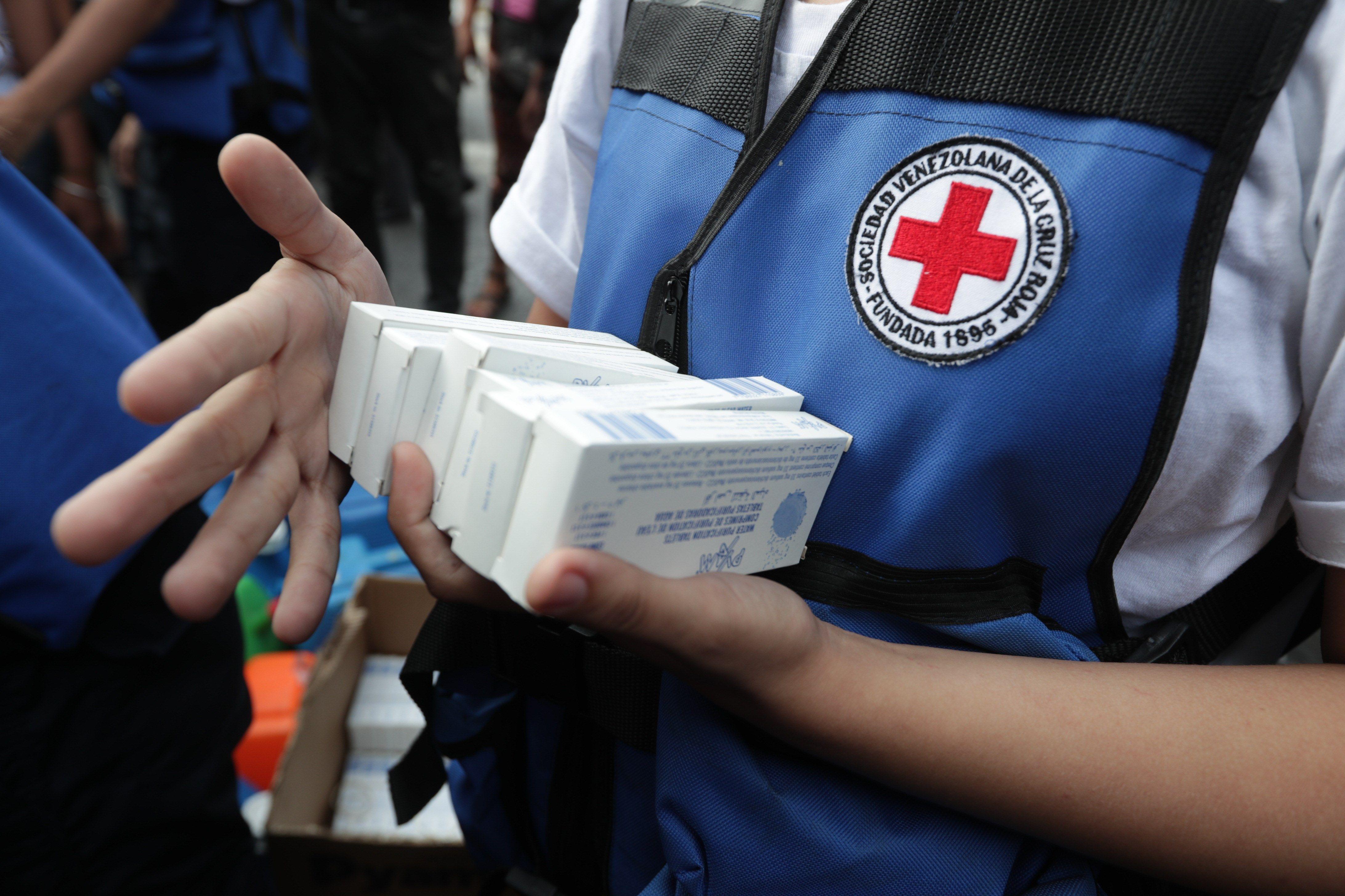 Cruz Roja Venezolana rechaza venta y comercialización de ayuda humanitaria
