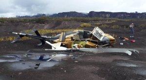 Helicóptero con seis personas a bordo se precipitó en Canaima