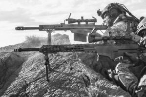Fuego vs Fuego: El poderoso (y prohibido) fusil calibre .50 que pretende fabricar México para combatir a narcotraficantes