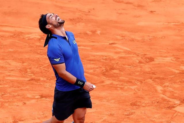 Fabio Fognini logra en Montecarlo su primer Masters 1000