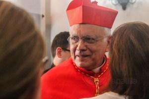 """Cardenal Baltazar Porras confirmó disposición de la Iglesia a ser """"facilitador"""" en negociación"""