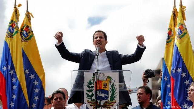 Juan Guaidó time