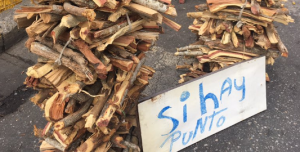 Retroceso en el tiempo pero con punto de venta: Así venden leña en Barquisimeto (FOTO)