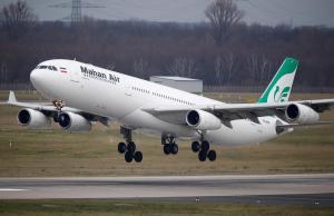 Aerolínea iraní inaugura primer vuelo directo entre Teherán y Caracas