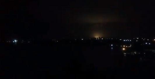 Maracaibo sin luz. Archivo.
