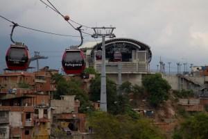 #EscombrosDeMaduro: Metrocable de San Agustín, de cinco estaciones solo funcionan tres