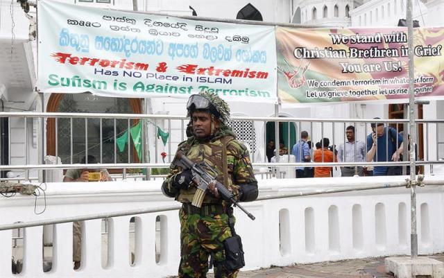 Detectan en Sri Lanka a 130 sospechosos vinculados al Estado Islámico y arrestan a 70