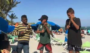 ¡Hay talento! Los niños cantores de las playas de Margarita que te sacarán una sonrisa (VIDEO)